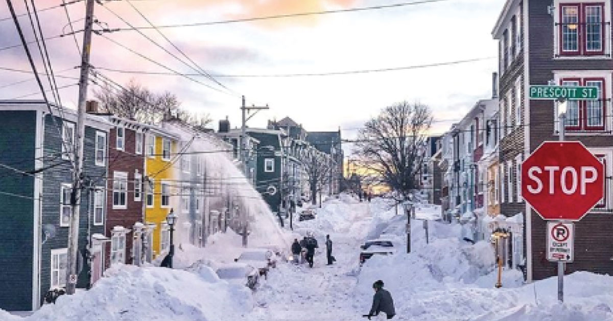 A storm like the one in Newfoundland… would we be ready?