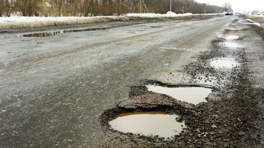 Potholes: a motorist's nightmare
