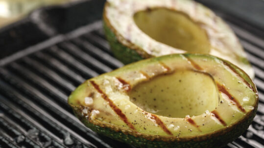 When Fruits and vegetables meet the grill