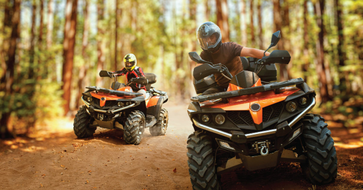 Quebec and its most beautiful places for ATVing