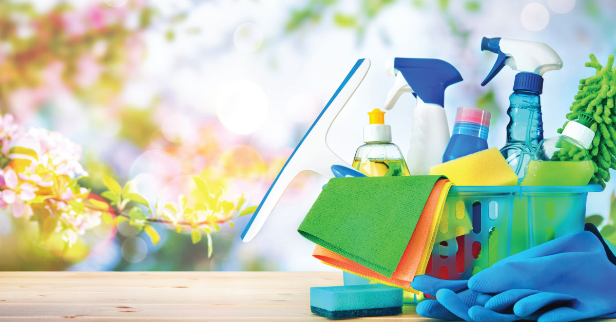 A method for a successful spring cleaning