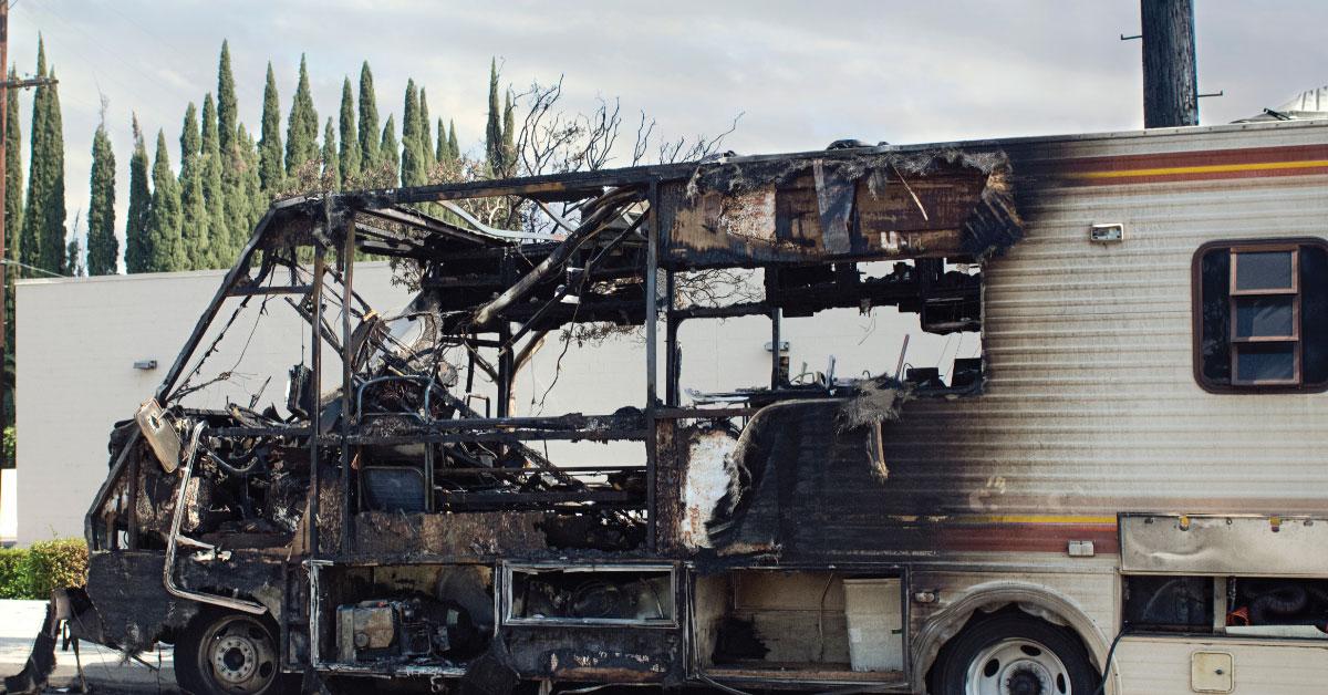 Les causes d'incendie dans un VR